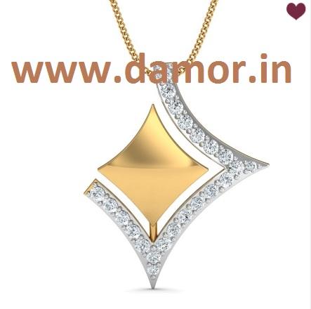 Buy online jewellery in india damor stunning pendant designs diamond pendant designs online in india damor aloadofball Gallery