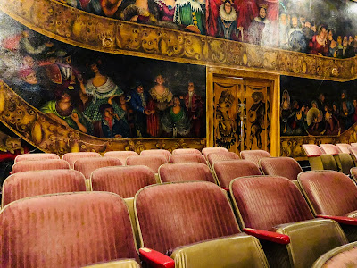 Amargosa Opera House Theater inside.