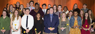 Tri-County Regional Inducts 29 Students into National Honor Society
