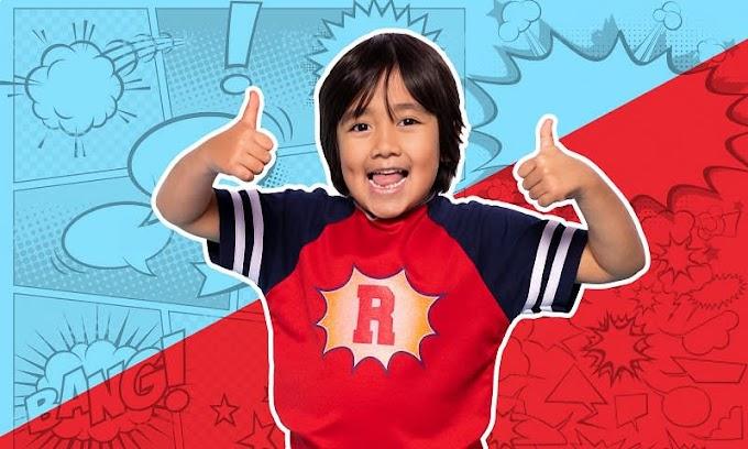 Ryan ToysReview: The 4-year-old Entrepreneur
