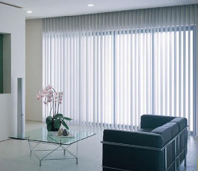 Rèm lá dọc chống nắng cho văn phòng Mihn