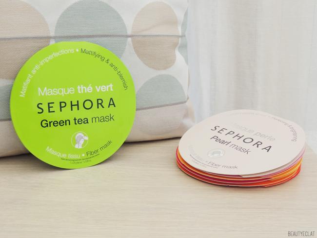 revue avis test masques tissu sephora