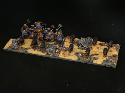 Mastiffs and Ironclad on autumn bases by Pepe