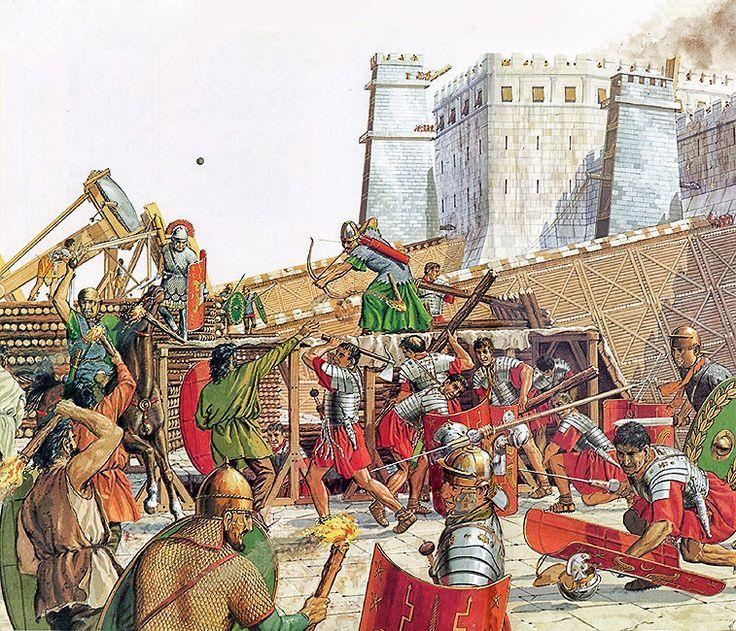 Resultado de imagen de asedio jerusalen 70
