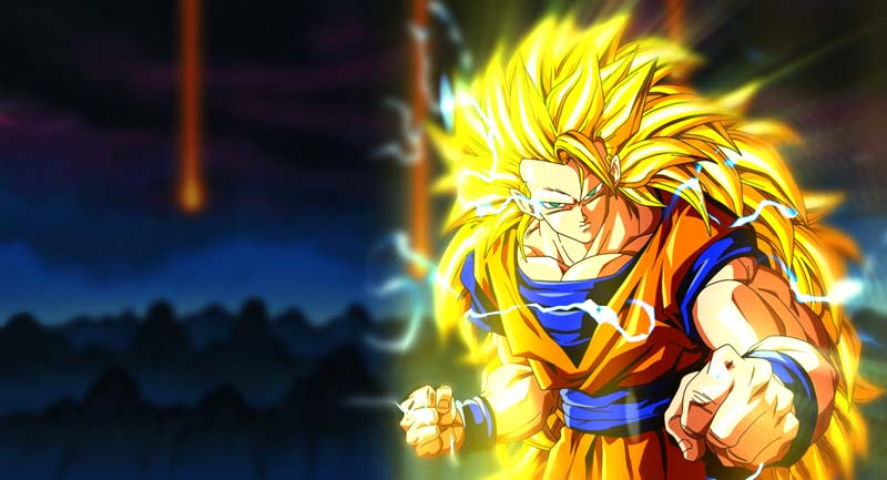 Dragon Ball Z Super Saiyan 3 Wallpaper Engine