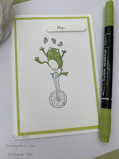 So Hoppy Together card, Saleabration Sunday.#simplestamping