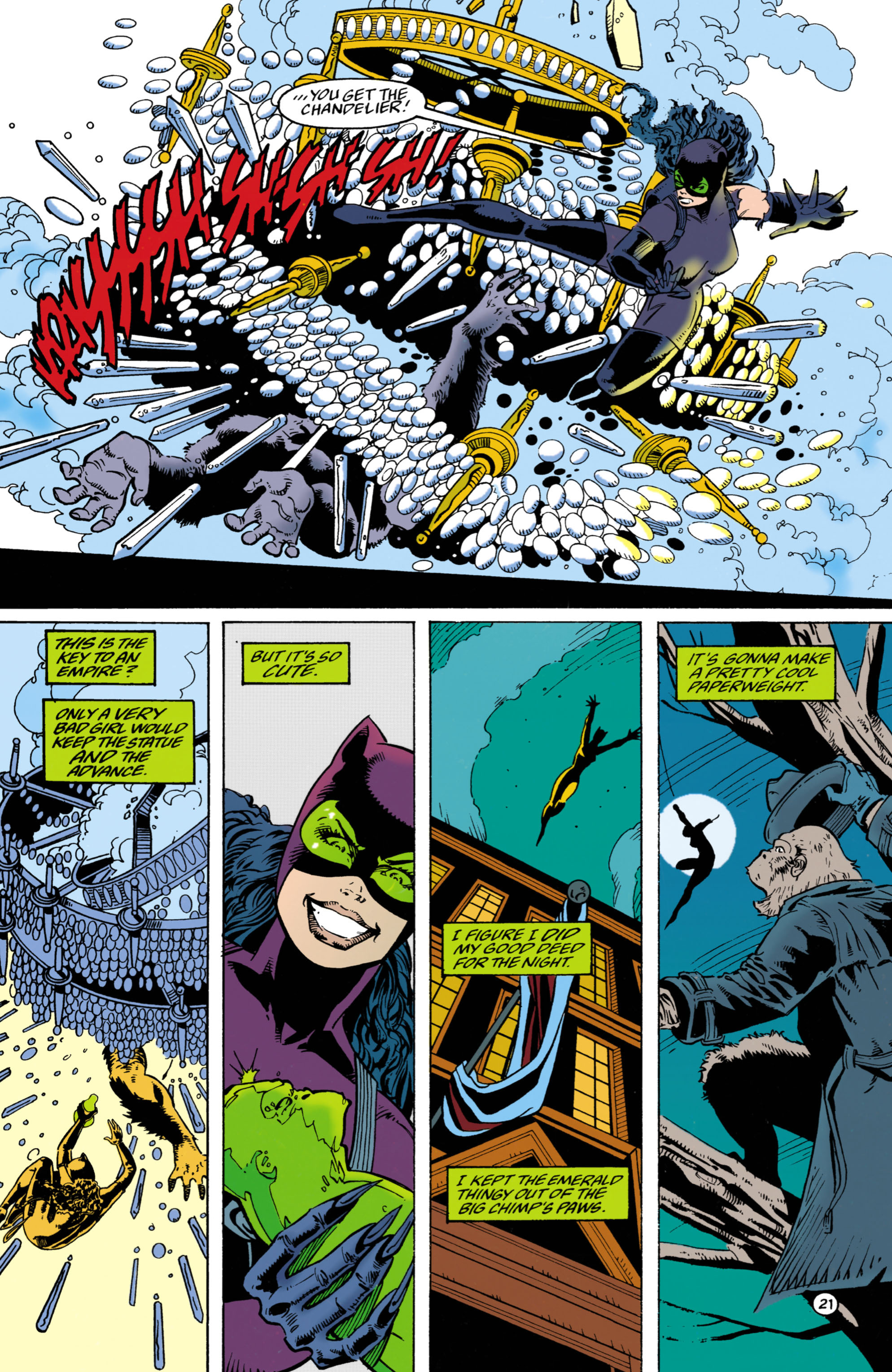 Catwoman (1993) Issue #27 #32 - English 22