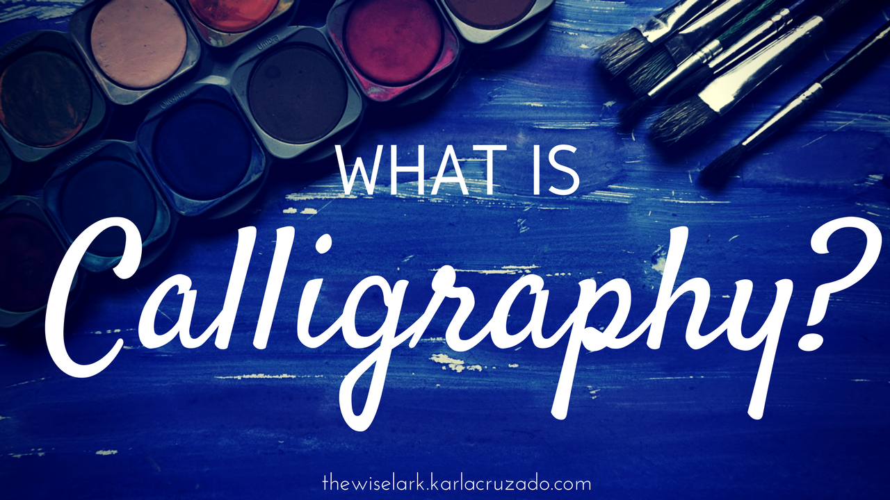 Calligraphy Defined
