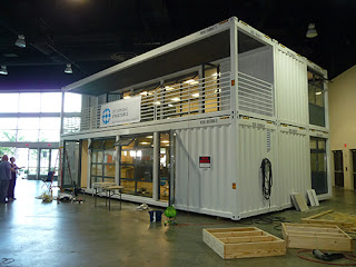 Modular building using steel shipping container concept