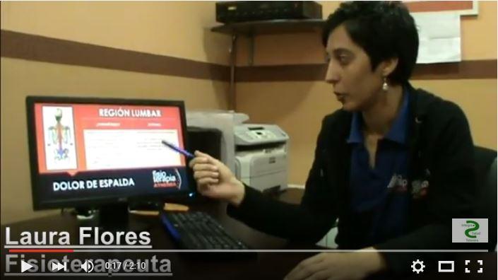 Fisioterapeuta, Laura Flores Ver vídeo de la entrevista