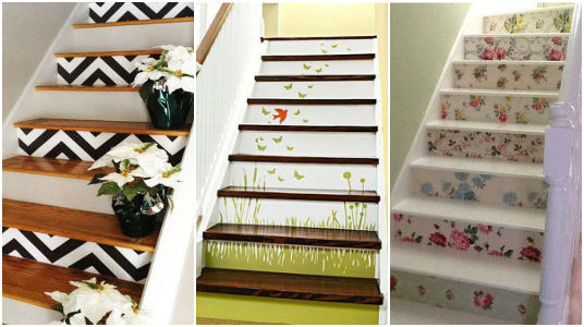 Escaleras decoracion image sc decoracin con plantas y for Ideas para decorar escaleras