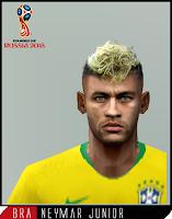 PES 6 Faces Neymar Jr by Dewatupai