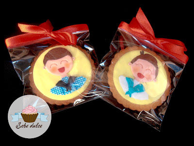 Galletas decoradas con fondant. Sant Pere