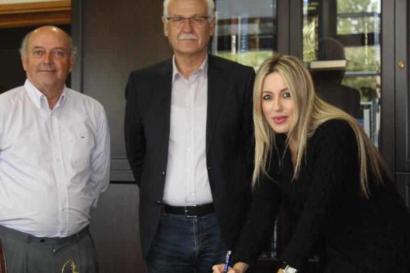 Η Μαρία Κοτάκου ορκίσθηκε Δημοτική Σύμβουλος Λάρισας στην θέση του Αλέξη Γεωργούλη