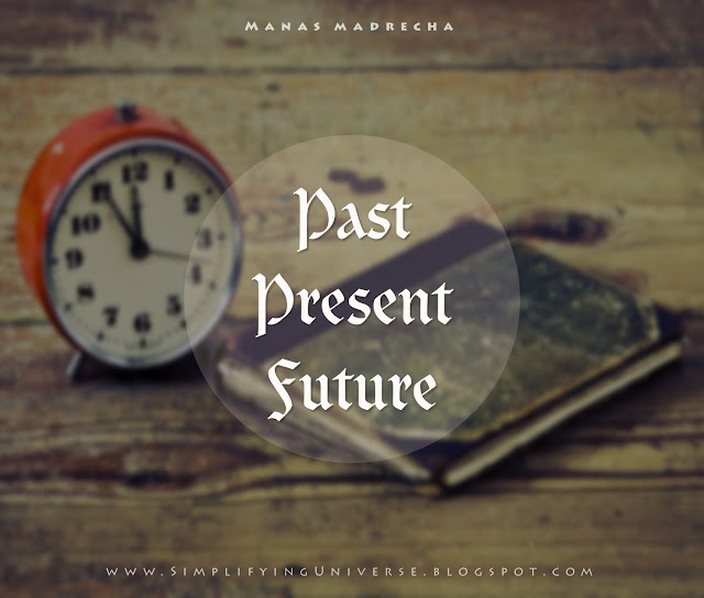 time wallpaper, past present future wallpaper, time artwork, clock artwork, manas madrecha, manas madrecha quotes, time abstract wallpaper, inspirational article, simplifying universe, inspirational blog, self-help blog
