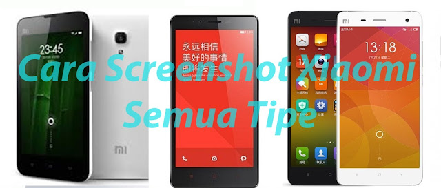 cara screenshot xiaomi