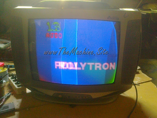 TV POLYTRON 21 Layar Menyempit, Channel Siaran Berubah ubah