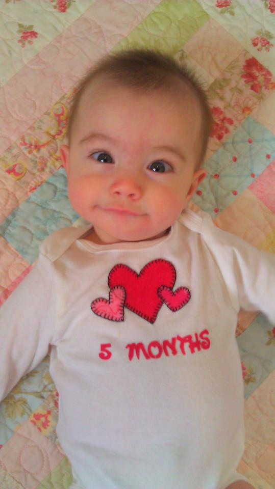 Logan and Camille Spence: To My Sweet 5 Month Old Baby Girl