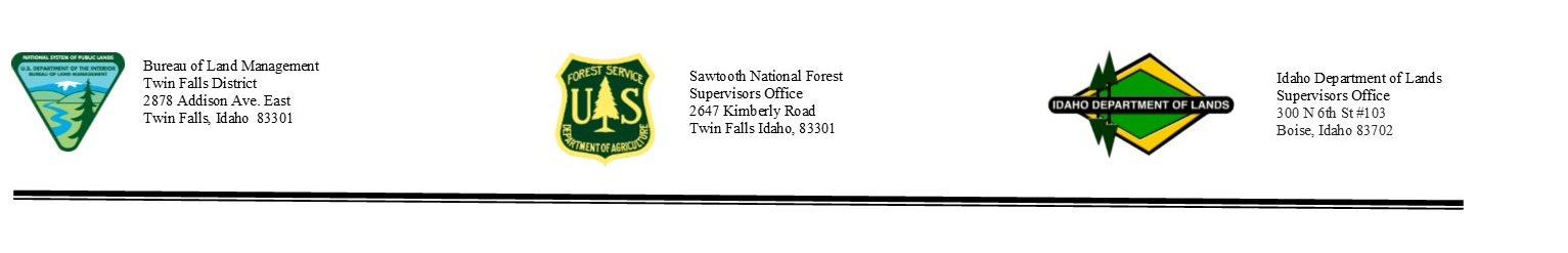 Fire Managers To Lift Stage 1 Fire Restrictions For Sawtooth North Zone