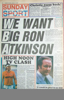 Back page of the Sunday Sport dated 11th January 1987