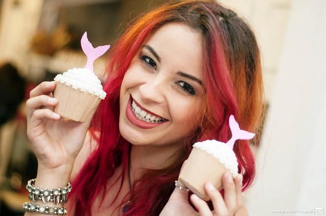 Cupcakes - Festa com tema de Sereia