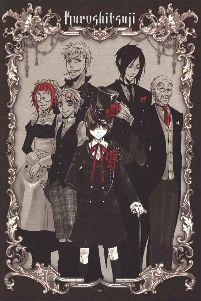 cover anime Kuroshitsuji