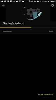 Downloading and checking for updates 4.0.2