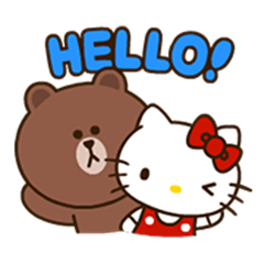 LINE FRIENDS & HELLO KITTY Vol. 2