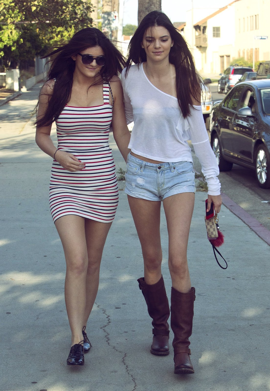 03 - Out and About with Kylie Jenner in Hollywood California on June 16, 2012