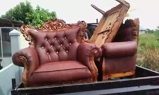service kursi tamu kayu di bintara