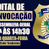 Sindasp-RN convoca Assembleia Geral para esta quarta-feira (25)