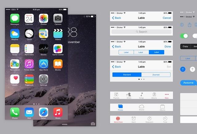 tampilan iphone mudah dipahami