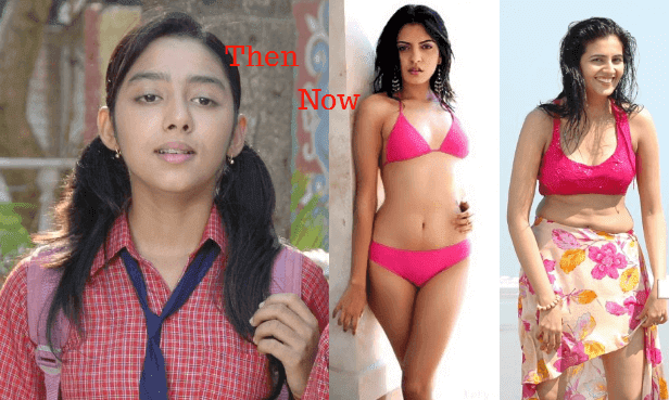 Then and now pic of Sonu from Tarak Mehta ka Ulta Chasma