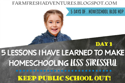 5 Lessons Learned to Make Homeschooling Less Stressful: Day 1