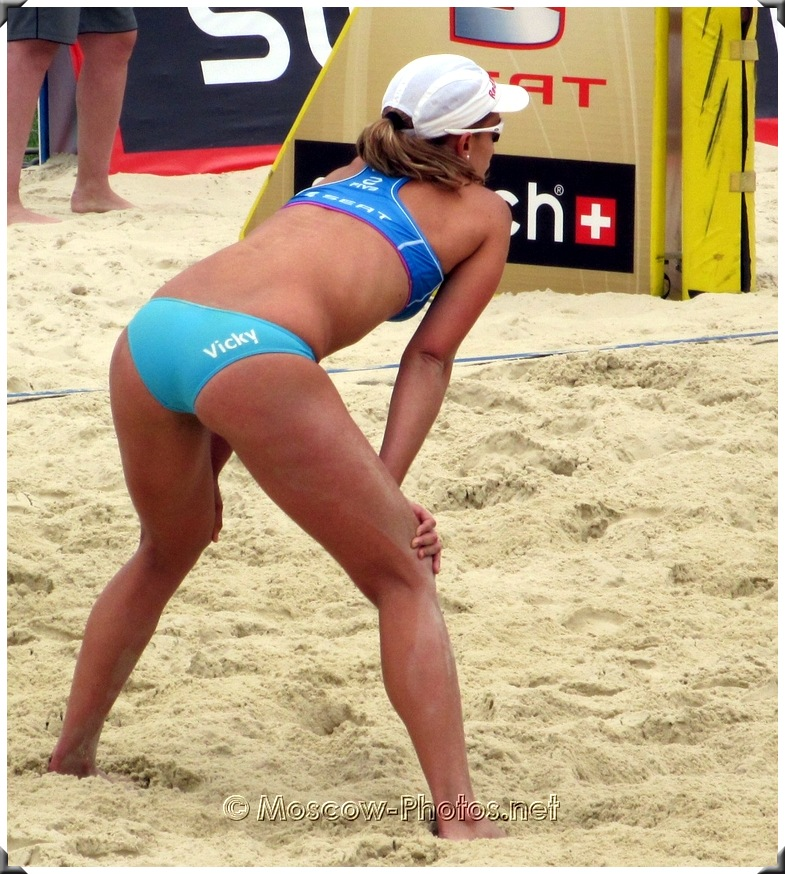 Vicky Arvaniti at SWATCH FIVB Beach Volleyball World Tour