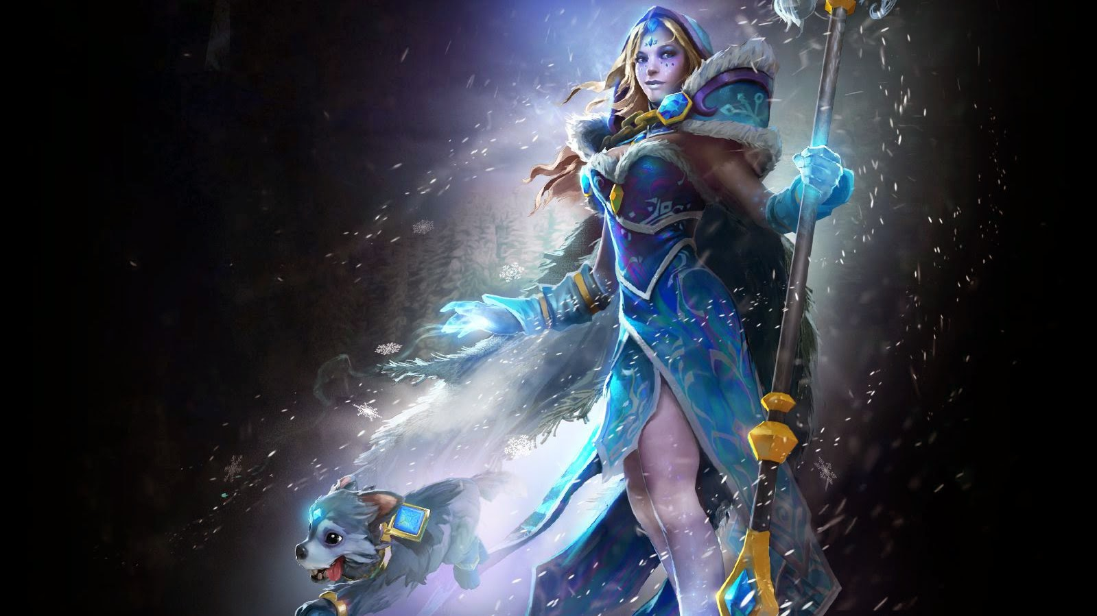 Crystal Maiden Arcana - Frost Avalanche | Dota 2 Mods