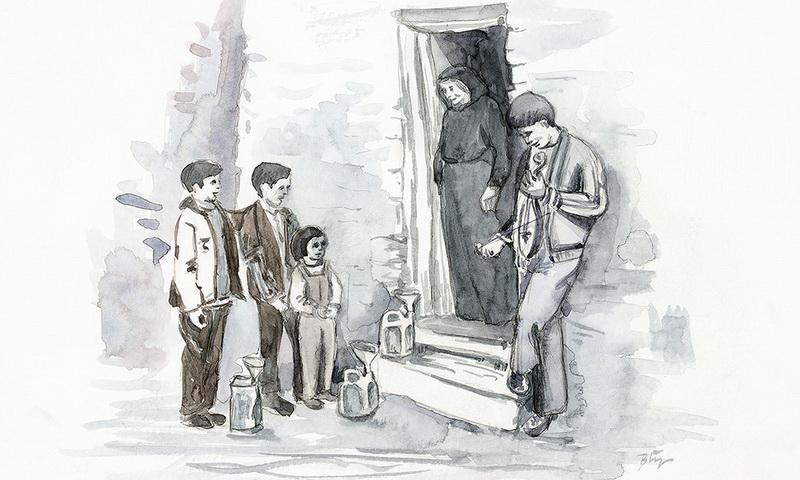 Καλαντιστές στη Νέα Χηλή - Παιδικές αναμνήσεις από τις γιορτές του Δωδεκαημέρου