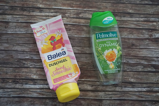 Balea - Sweet Smoothie Duschgel, Palmolive - Feel Dynamic