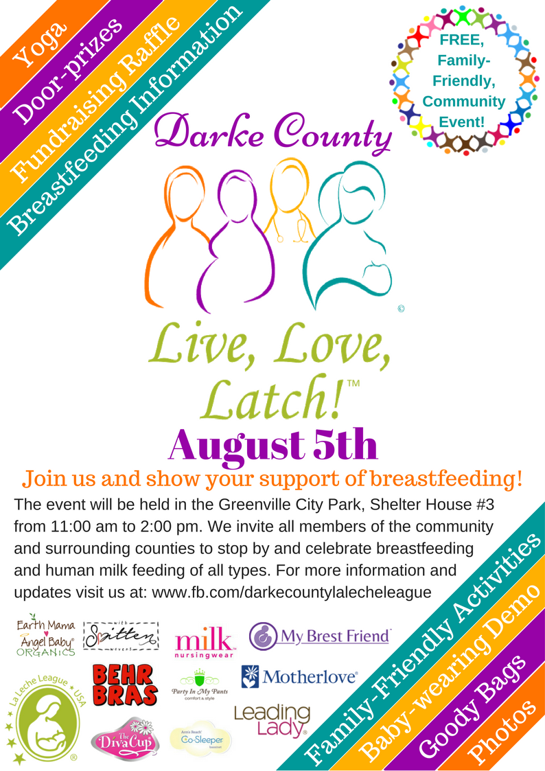 Ohio darke county north star - Live Love Latch Is A National Breastfeeding Month August 1 31 Celebration Presented By La Leche League Lll Usa And Hosted By Lll Groups Throughout