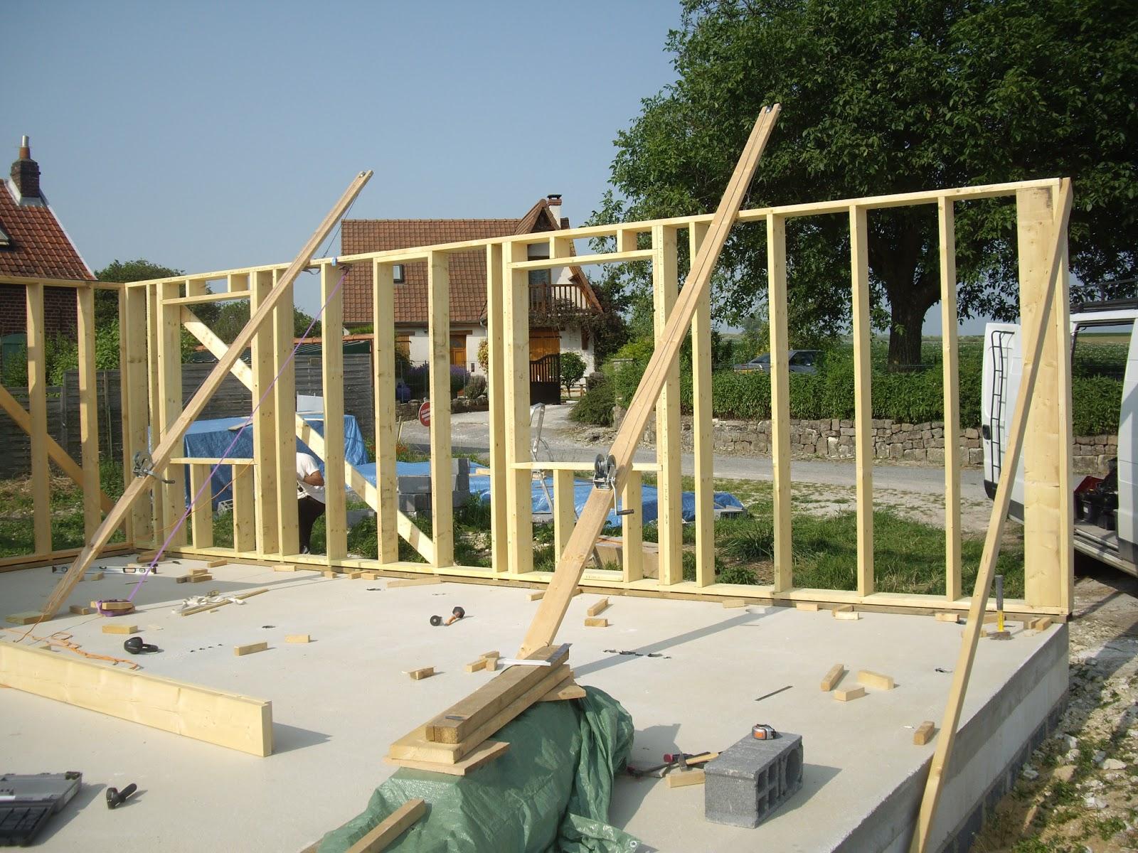 notre auto construction passive maison ossature bois m o b ossature bois jour 10. Black Bedroom Furniture Sets. Home Design Ideas