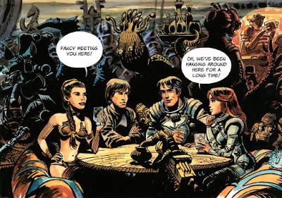 Valérian y Laureline vs Star Wars