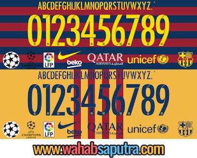 TTF Barcelona UCL UEFA 2014 2015 font football free download,Barcelona 2014-2015 UCL Font TTF,Barcelona UCL 2014-2015 FONT,Font Barcelona UEFA Champions League 2014 2015