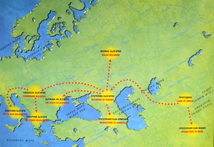 Aleksandra Delova Sedemte Blgarii Szdadeni Na Evropejskiya