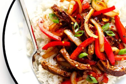 DELICIOUS SIZZLIN' SPICY SZECHUAN STIR-FRY