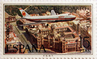 50º ANIVERSARIO DEL CORREO AEREO, BOEING 747