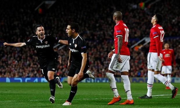 Sevilla hancurkan harapan MU ke 8 Besar Liga Champions