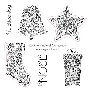 CTMH Holiday Stamp Set Yuletide Joy