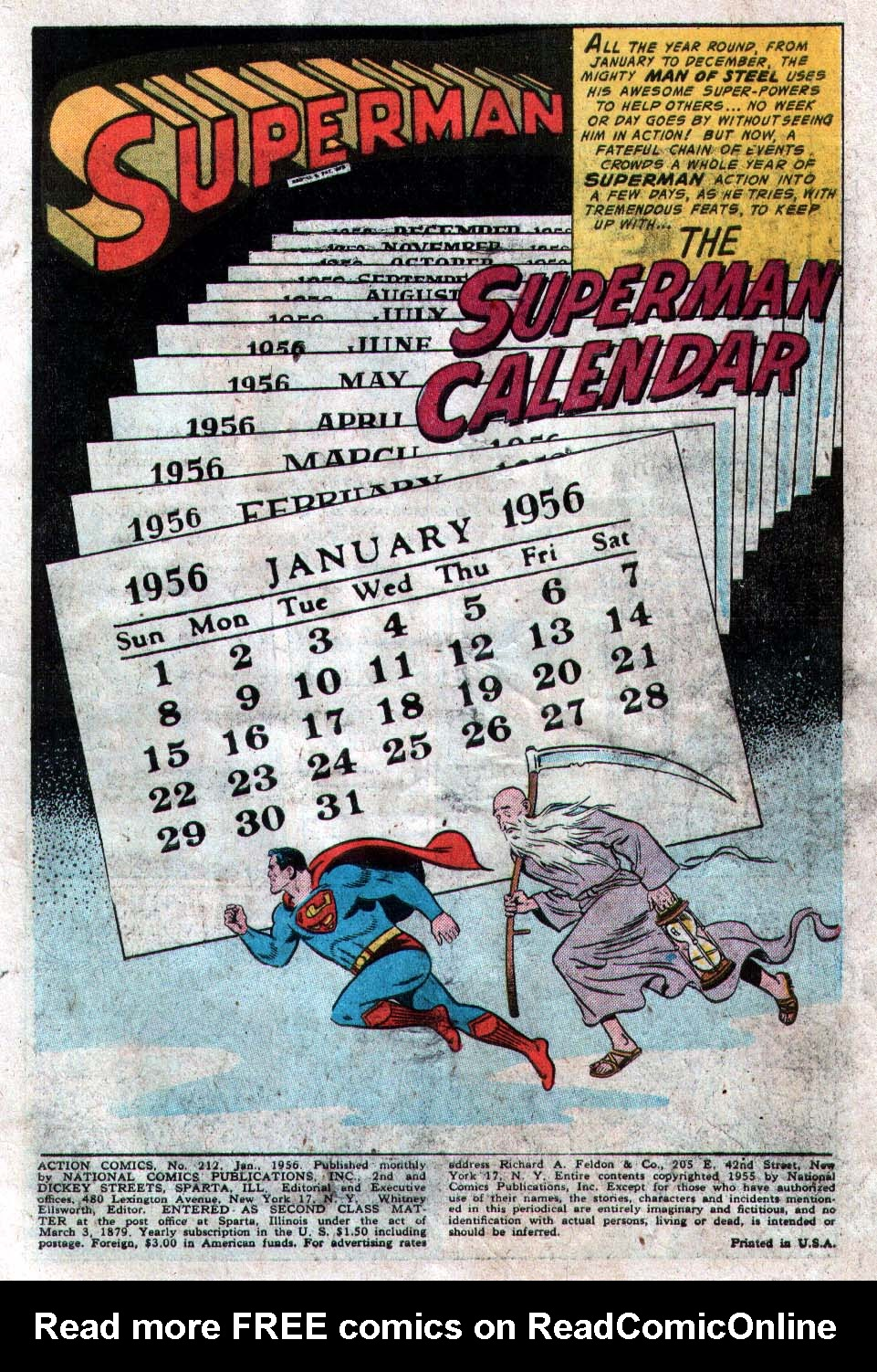 Read online Action Comics (1938) comic -  Issue #212 - 3