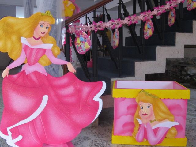 Decoracion princesa disney aurora la bella durmiente - Fiestas infantiles princesas disney ...