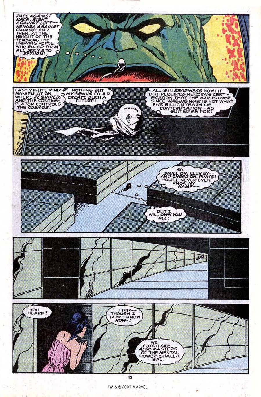Read online Silver Surfer (1987) comic -  Issue #30 - 15